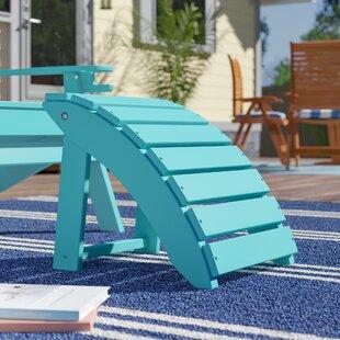 Beachcrest Home Anabella Folding Ottoman