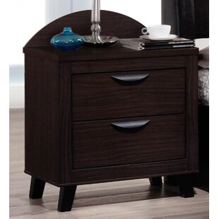 Red Barrel Studio Copeland 2 Drawer Nightstand