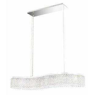 Refrax 5-Light LED Crystal Chandelier by Schonbek