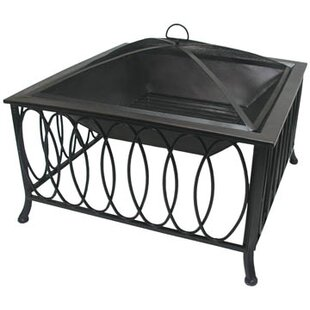 Corral Olympus Steel Wood Burning Fire Pit