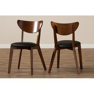 Carrera Dining Chair (Set Of 2) by George Oliver Herry Up