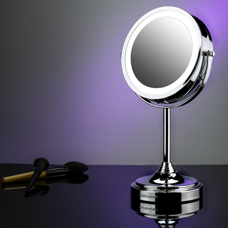 Orren Ellis Asulf Lighted Magnifying Vanity Mirror Reviews Wayfair