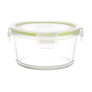 GoGreen Glassworkds Round 28 Oz. Food Storage Container