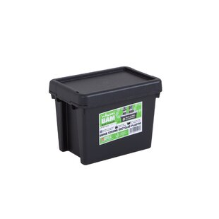 Bam Heavy Duty 6.5 L Plastic Storage Box (Set Of 5) By Symple Stuff