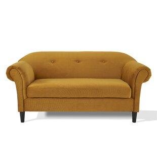 Mustard Velvet Sofa | Wayfair.co.uk