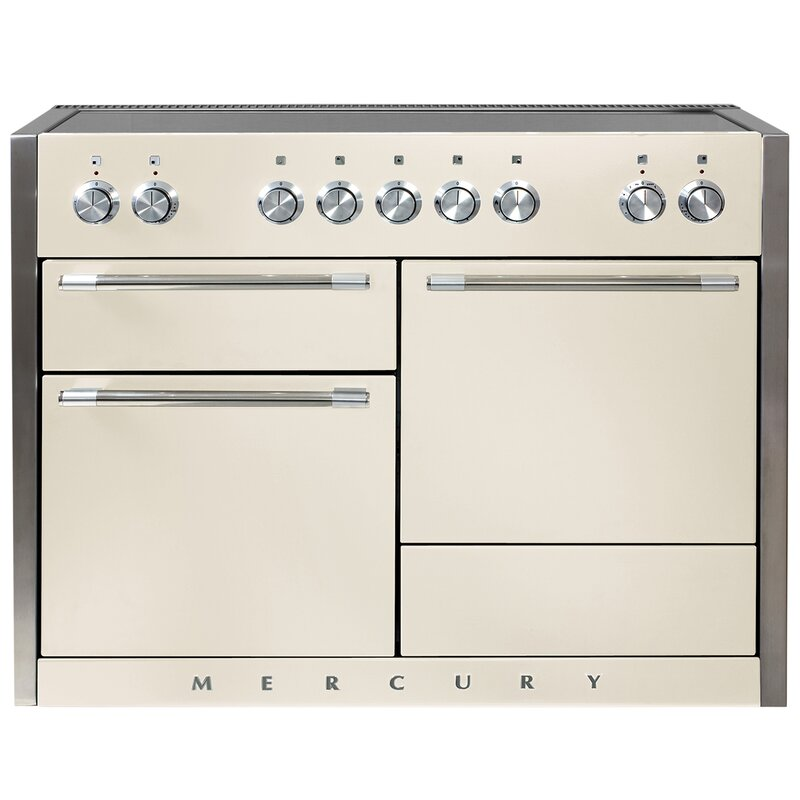 "AGA Mercury 48"" Free-Standing Electric Range  Finish: Ivory"
