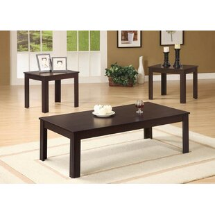 Tinkham 3 Piece Coffee Table Set by Winston Porter