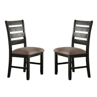 Bledsoe Upholstered Dining Chair (Set of 2) by Alcott Hill