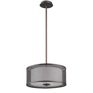 Gracie Oaks Normandin 3-Light Pendant