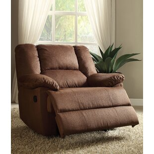 Makela Manual Glider Recliner Red Barrel Studio