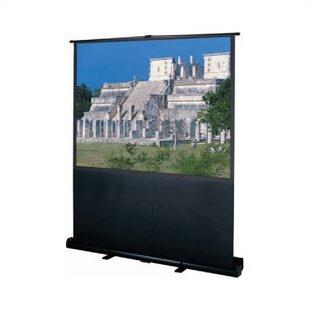 Black 60 Diagonal Manual Projection Screen by Da-Lite