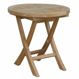 Bourque Solid Wood Side Table
