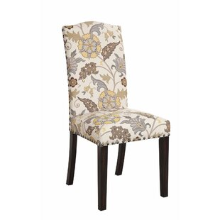 Koopman Upholstered Dining Chair (Set of 2) by Alcott Hill