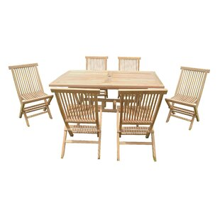 Melbourne 6 Seater Dining Set By Bay Isle Home