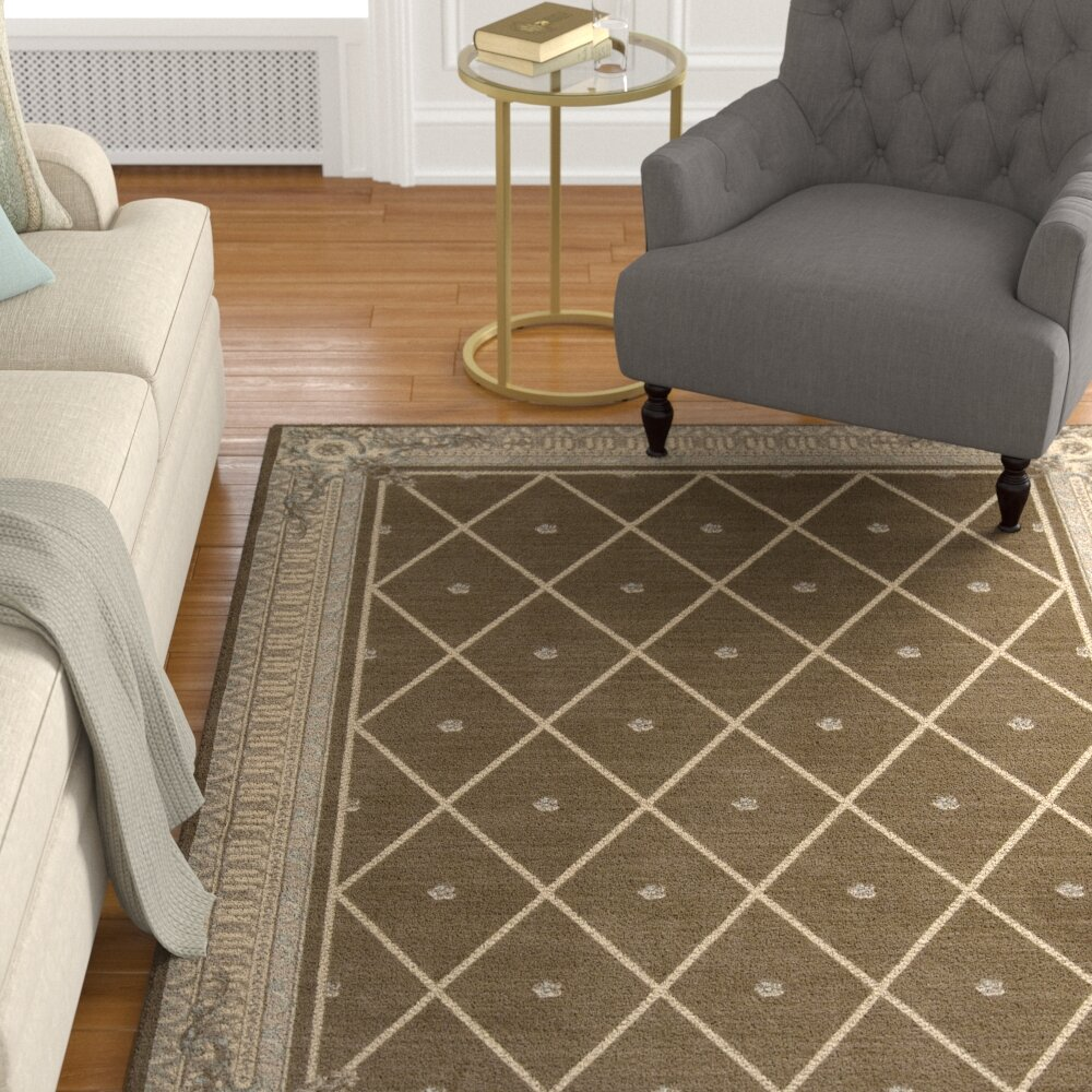 Payzley Wool Mink Area Rug