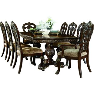 Chalus 9 Piece Extendable Dining Set Astoria Grand