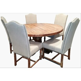 Millwood Pines Walburg Solid Wood Dining ..