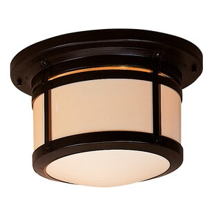 Berkeley 2-Light Outdoor Flush Mount By Arroyo Craftsman Outdoor Lighting
