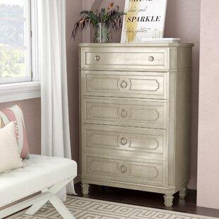 Haneul 5 Drawer Standard Dresser