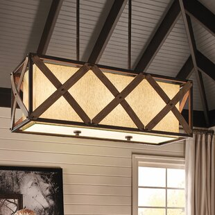 Hominy 1-Light Square/Rectangle Pendant by Loon Peak