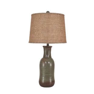 Haire Faux Clay Water Jug 30 Table Lamp