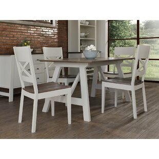 Manago 5 Piece Dining Set by Longshore Tides Reviewst