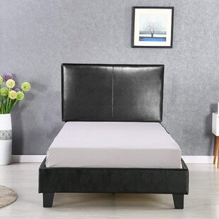 Read Reviews Farnham Twin Upholstered Platform Bed by Ebern Designs Reviews (2019) & Buyer's Guide