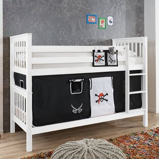 Wicky European Single Bunk Bed With Textile Set By Zoomie Kids