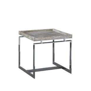 Axiom End Table by Furniture Classics