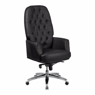 Keefe Executive Chair by Everly Quinn Sale