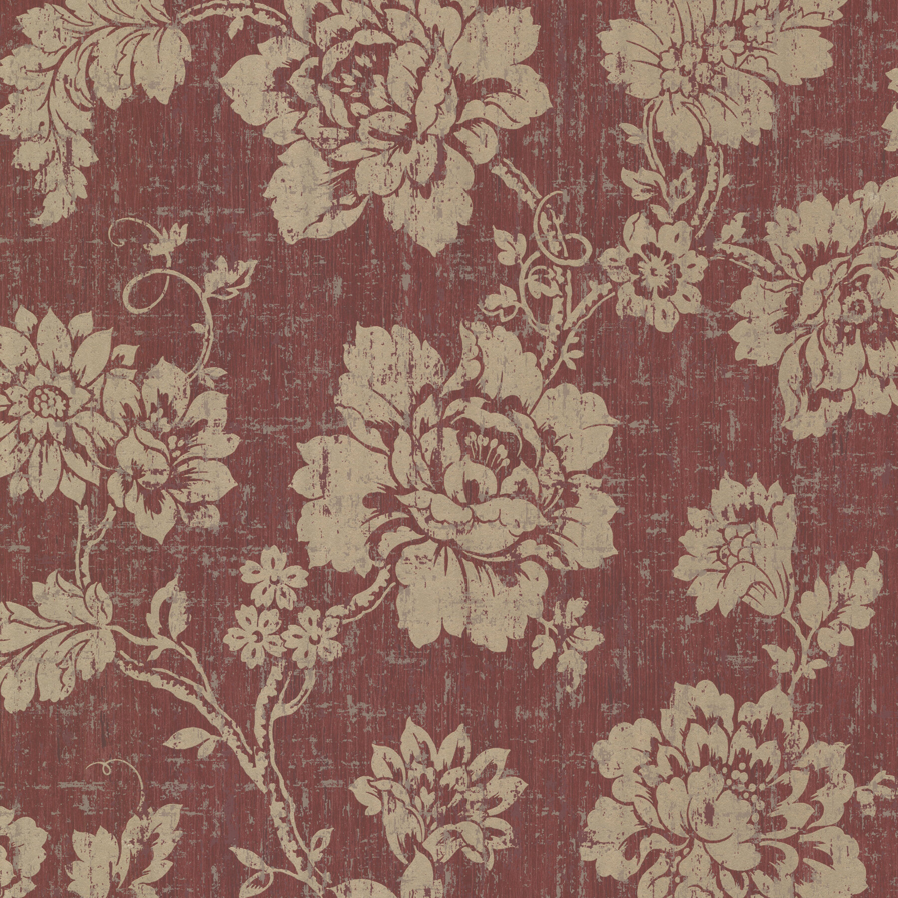 Brewster Home Fashions Onyx Giardina Trail 33 X 20 5 Floral 3d