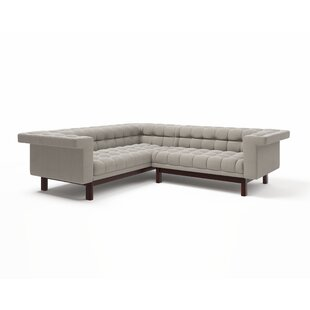 Best Price George Corner Sectional Sofa by TrueModern Reviews (2019) & Buyer's Guide
