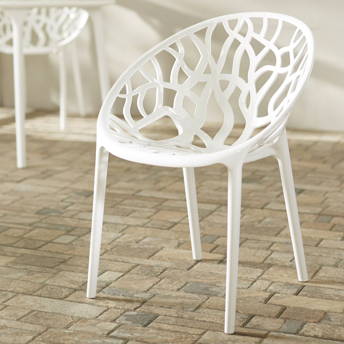 Super Metrocles Stacking Patio Dining Chair Download Free Architecture Designs Rallybritishbridgeorg