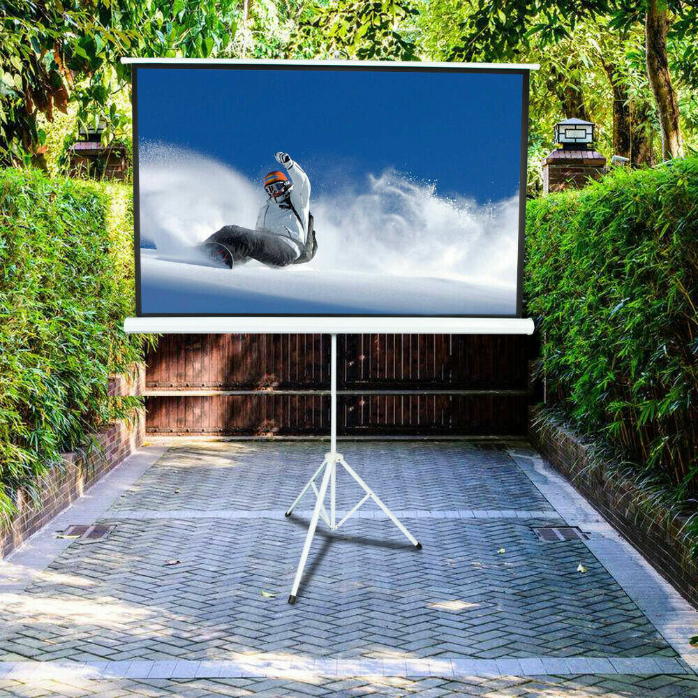 Winado White 41 X 73 Portable Tripod Projector Screen Wayfair