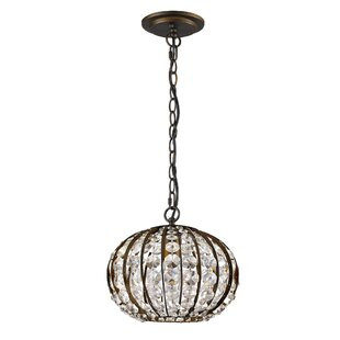 Kegler 1-Light Pendant by House of Hampton