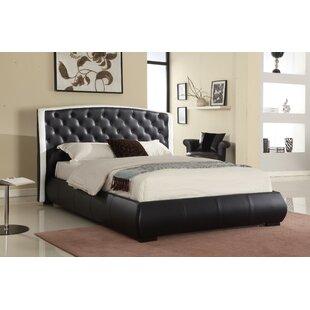 Woodacre Button Tufted 2-Tone Eastern King Upholstered Platform Bed by Orren Ellis