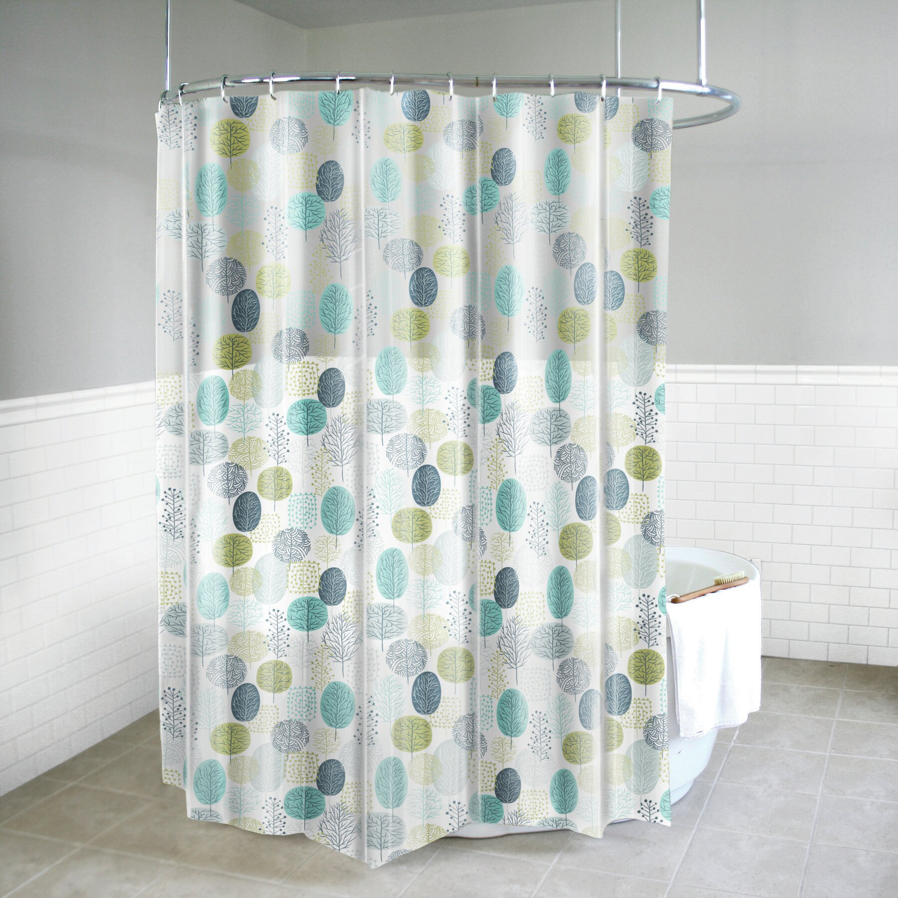 Splash Home Free of PVC Chlorine and Chemical Smell-100/% Waterproof 70 x 72 Inch 72 X 70 inch-Beige