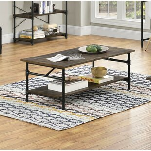 Best Choices Dodd 2 Piece Coffee Table Set ByWilliston Forge