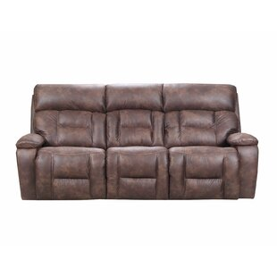 Pledger Reclining Sofa by Loon Peak
