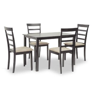 Baxton Studio Jet Sun 5 Piece Dining Set by Wholesale Interiors New
