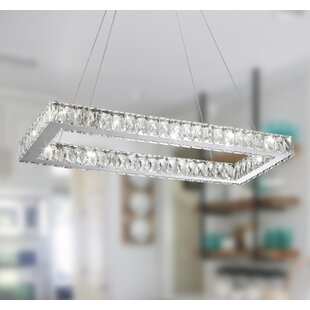 Leiter 14-Light LED Crystal Chandelier by..