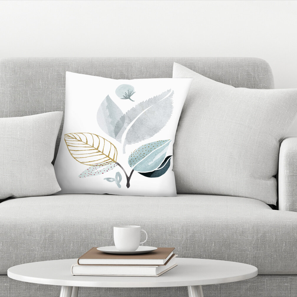 East Urban Home Forest Friends Throw Pillow Wayfair