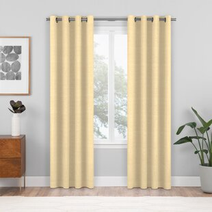 Custom Room Darkening Single Curtain Panel by Wayfair Custom Curtains