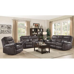 Nyberg Motion 3 Piece Reclining Living Ro..