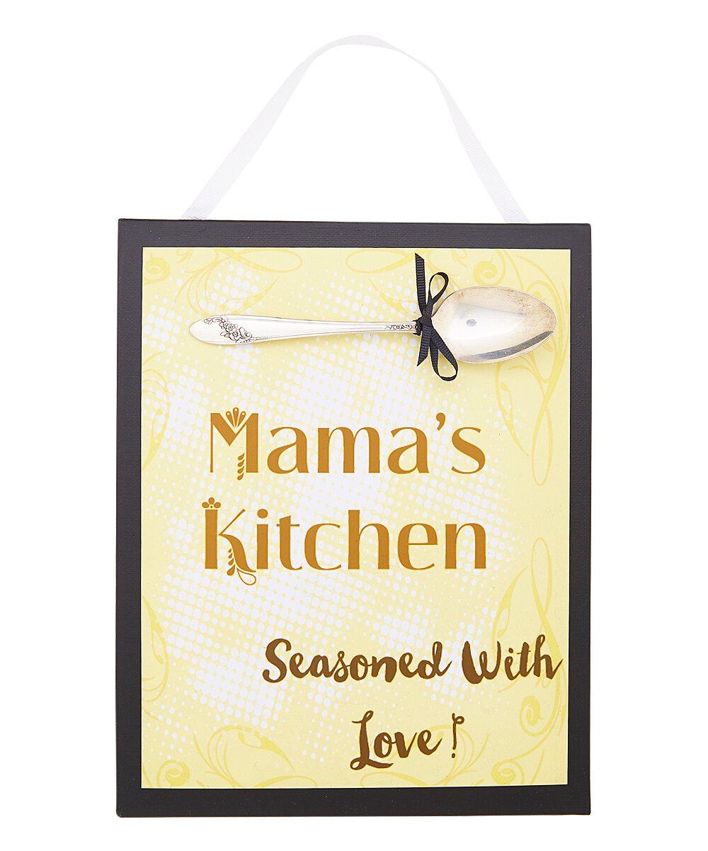 SilverBelles Mama\'s Kitchen Sign Wall Décor | Wayfair