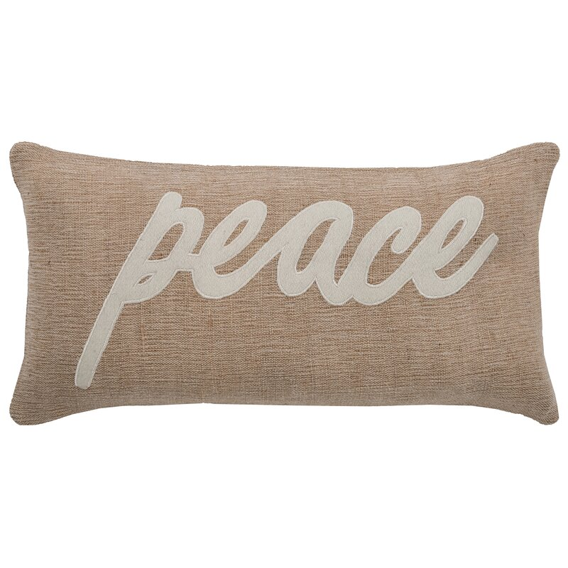 Tilley Peace Lumbar Pillow