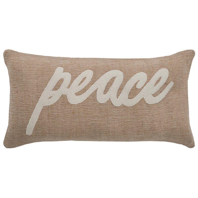 Tilley Peace Lumbar Pillow