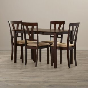 Donald 5 Piece Dining Set by Andover Mills Read Reviews