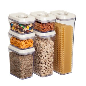 6 Piece Kitchen Canister Set