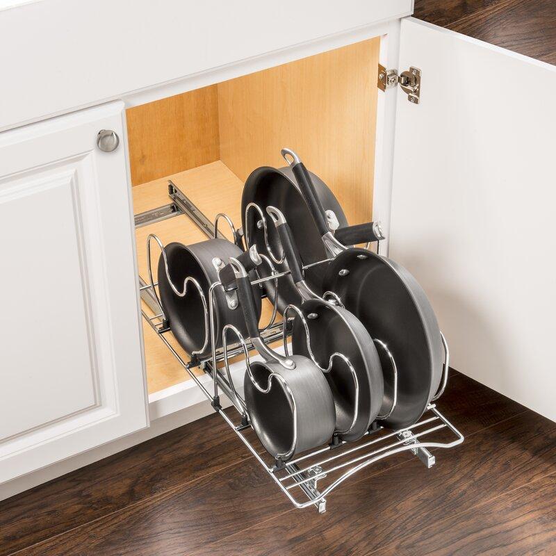 Professional® Slide Out Cookware Under Cabinet Kitchenware Divider